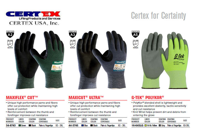 CERTEX USA Fall Protection items - Clearwater FL - Certex USA